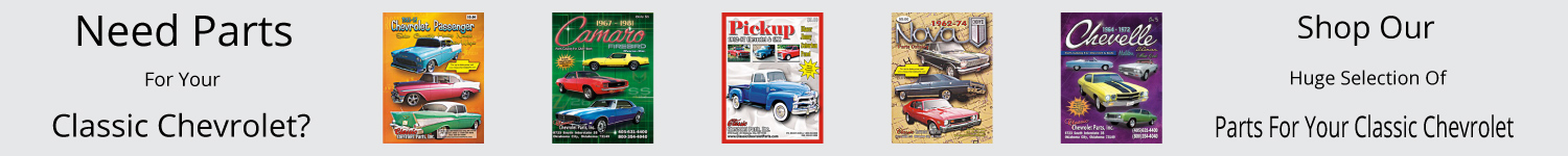 Classic Chevrolet Parts Catalogs