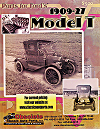 Shop Our Model T catalog for years 1909-1927