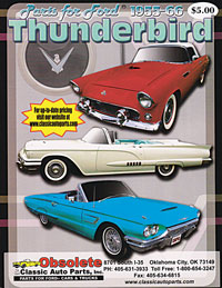 1955-66 Ford Thunderbird catalog