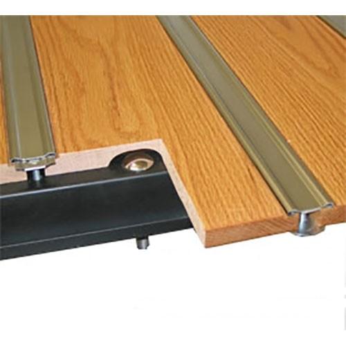 Oak Wood & Aluminum Strip Bed Kit
