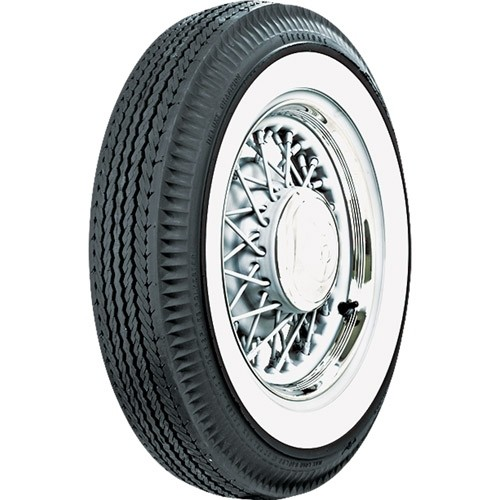 Firestone 750 X 14 Whitewall