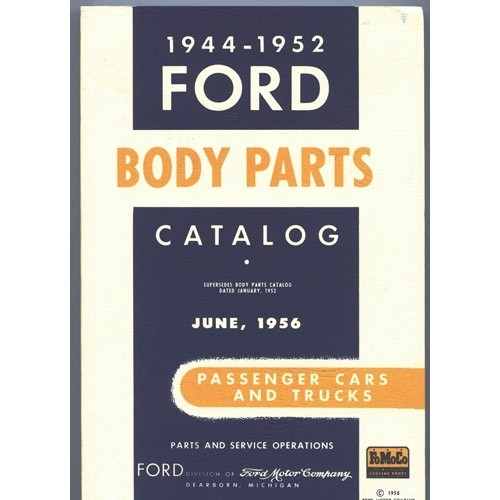 Ford Body Parts Catalog