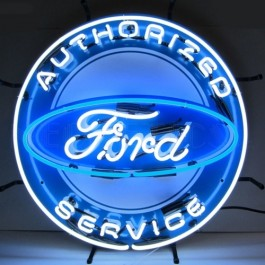 Ford® Authorized Service Neon Sign