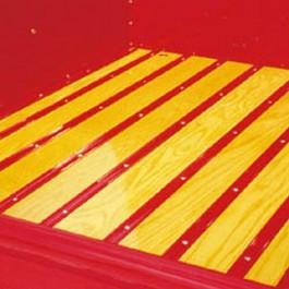 Plain Steel Bed Strip Set