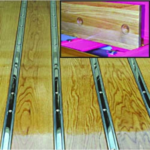 Oak Bed Wood Boards With Holes