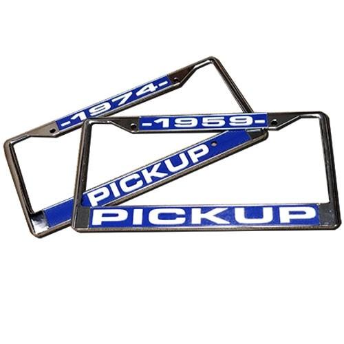 Pickup License Plate Frame