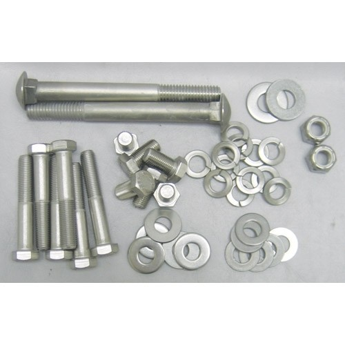 Stainless Radiator Support & Braces Bolt Kit