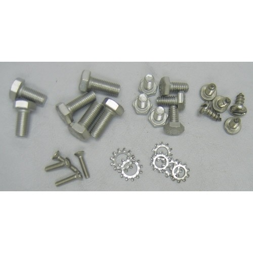 Stainless Grille Top & Support & Horn Bracket Bolt Kit