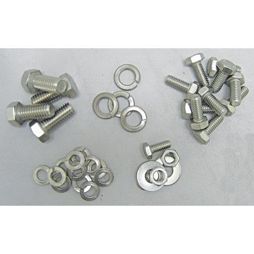 Stainless 3-Speed Transmission Bolt Kit