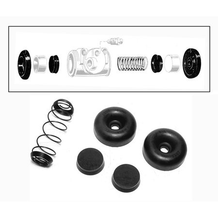 Front Wheel Cylinder Rebuild Kit