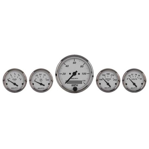 Auto Meter American Platnum Gauge Kit