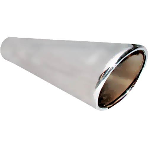 Chrome Megaphone Exhaust Tips