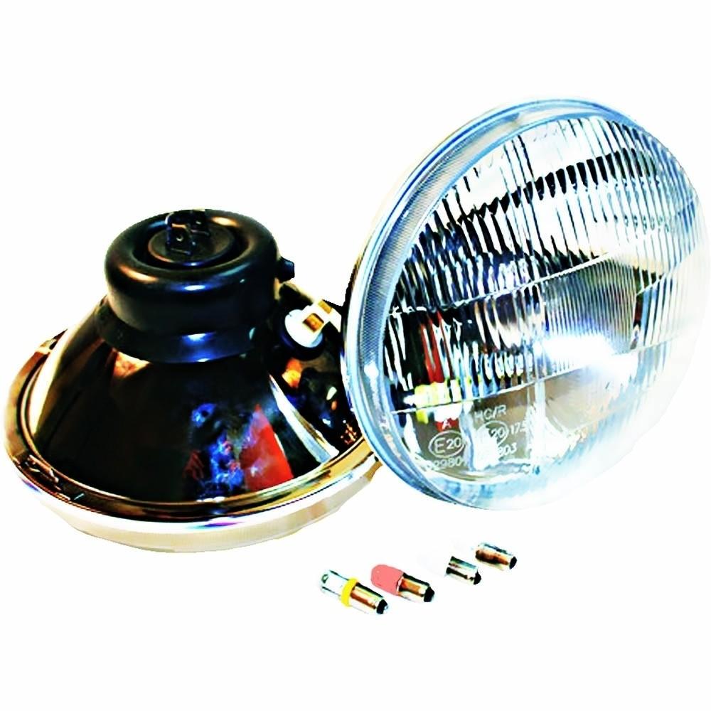 "7"" Classic Series Xenon Headlight With Daytime Running Lights"