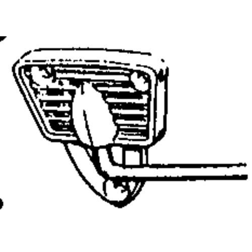 Sun Visor Arm & Bracket