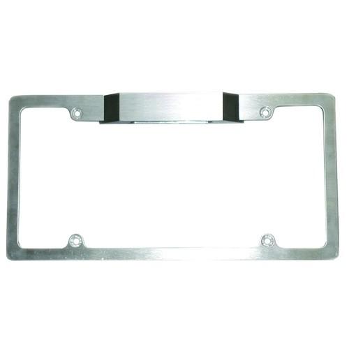 Billet Aluminum License Plate Frame