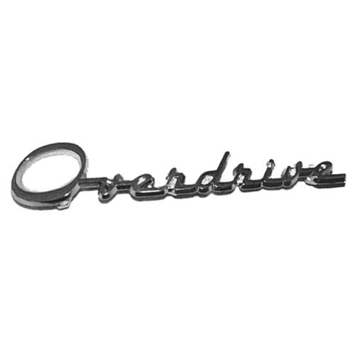 'Overdrive' Emblem
