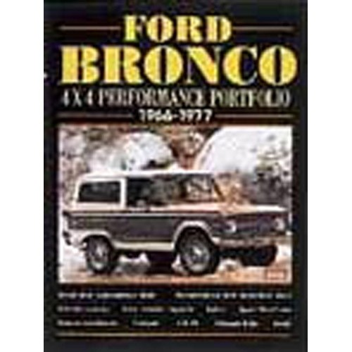 Ford Bronco 4x4 1966-77 Performance Portfolio