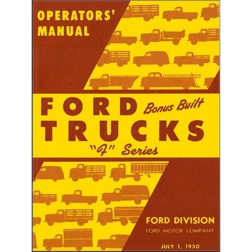 1950 Pickup Owners Manual
