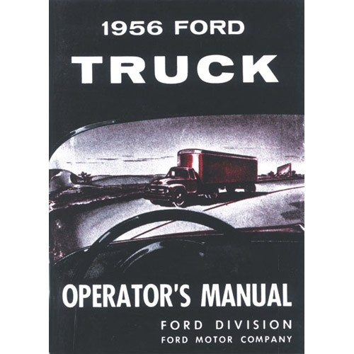 1956 Pickup Owners Manual