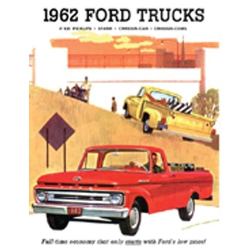 1962 Ford Truck Sales Brochure