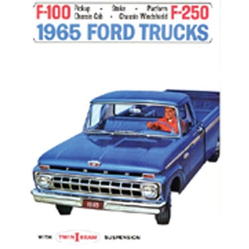 1965 Ford Truck Sales Brochure
