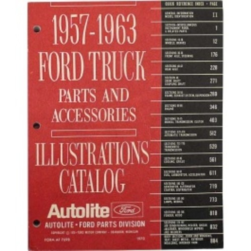 1957-63 Ford Truck Illustrations Catalog