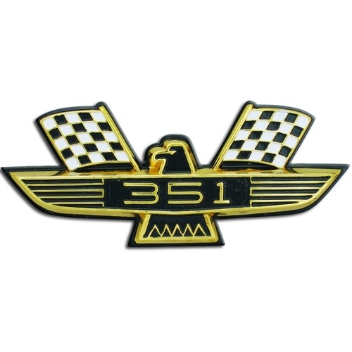 Bird Style Front Fender Emblem