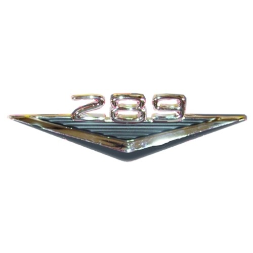 289 Silver Front Fender Ornament