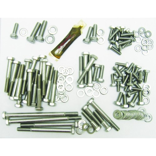 Stainless Hex Head Engine Bolt Kit