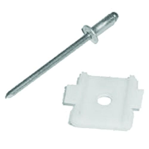 Back Cab Belt Molding Plastic Fastener