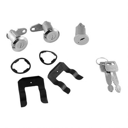 Ignition & Door Lock Cylinder Key Set