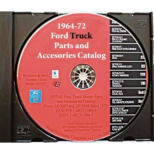 Ford® Truck Parts Master Text & Illustrations Catalog Set