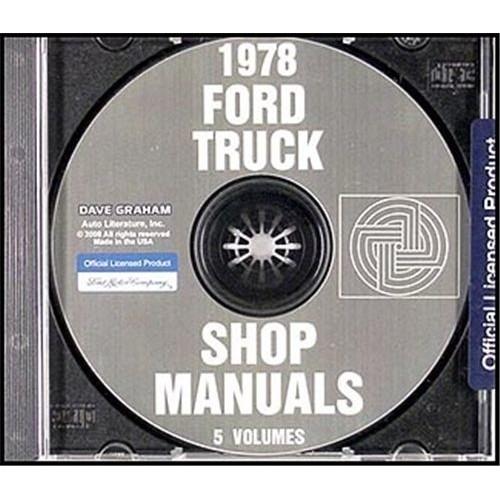 Digital Shop Manuals On CD