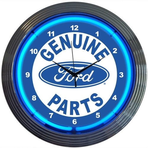 Genuine Ford® Parts Neon Clock