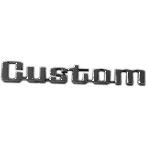 Custom Bedside Emblem