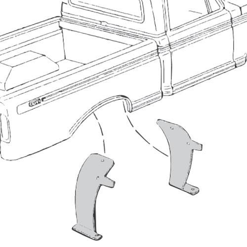 Rear Wheel Splash Shields