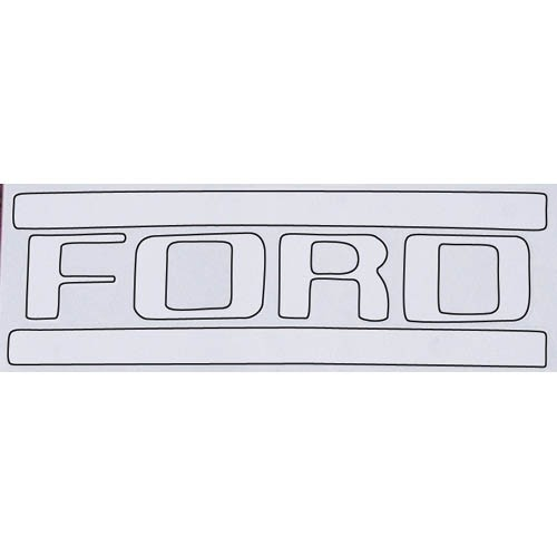 Ford® Truck Pickup Tailgate Lettering