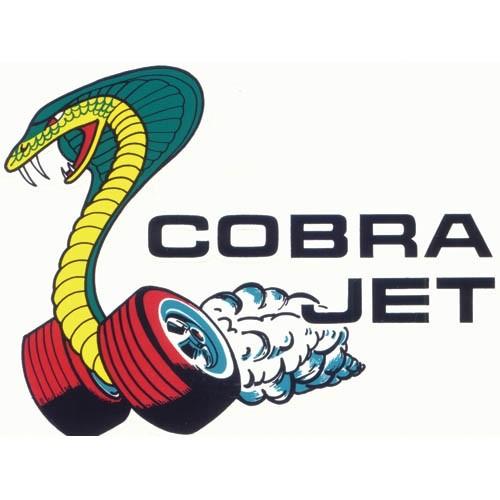Cobra-Jet Window Decal