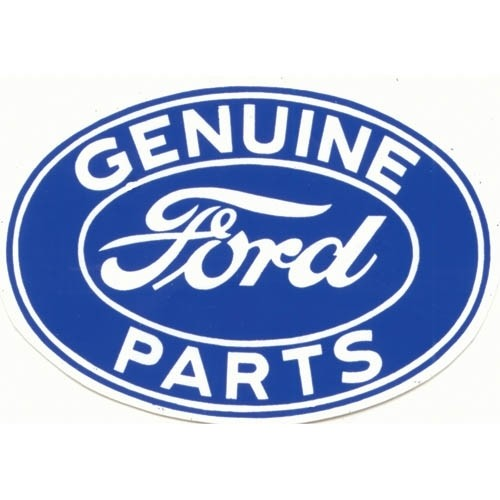 "(3"")FORD GEN.PARTS DECAL"