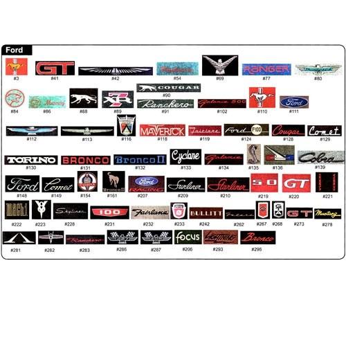 Floor Mat Logos