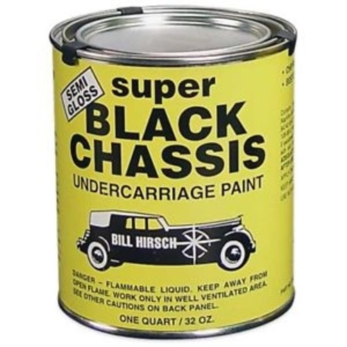 Super Black Chassis Undercarriage Paint