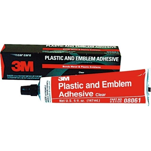 Plastic & Emblem Adhesive