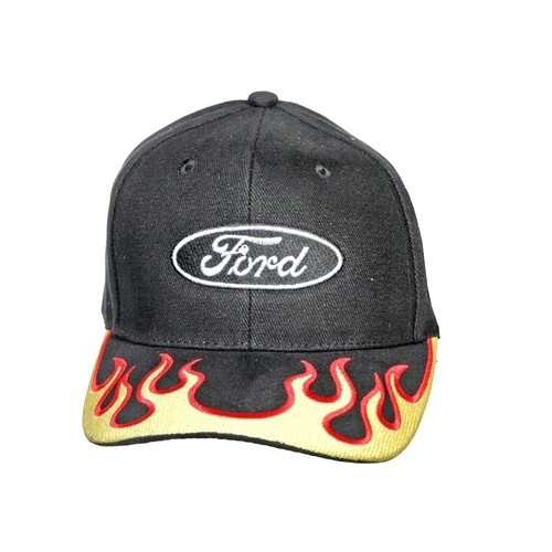 Ford® Logo Flamed Ball Cap