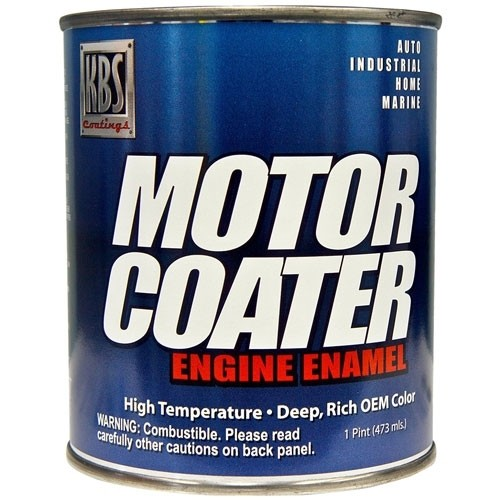 KBS Motor Coater Paint - Dark Blue