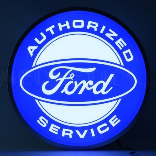 Ford® Authorized Service Backlit LED Sign