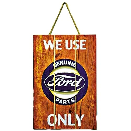 Wood FORD® Parts Sign