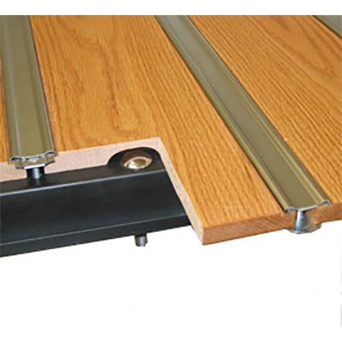 Oak Wood & Aluminum Strip Bed Kit