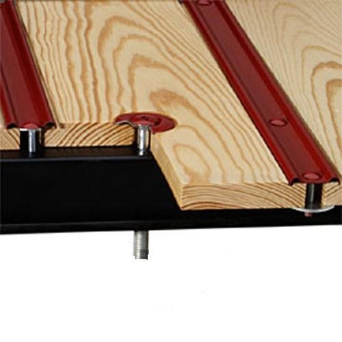 Pine Wood & Steel Strip Bed Kit