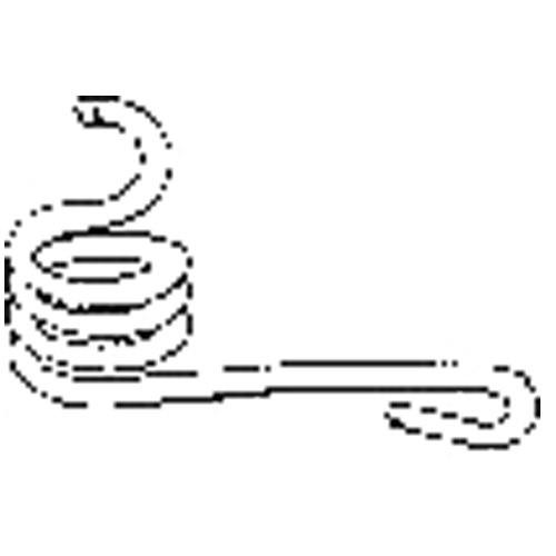 Tailgate Hook Retainer Spring