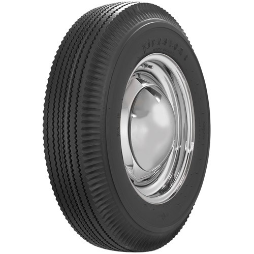 Firestone Bias Ply 600 x 16 Blackwall Tire
